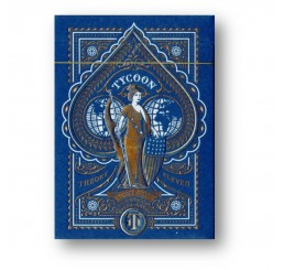 Tycoon Playing Cards blau